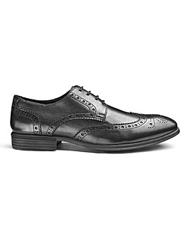 Soleform Leather Brogue Extra Wide