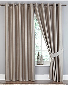 Ferndale Faux Silk Blackout Curtains