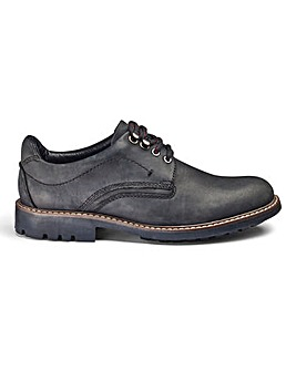 Leather Hybrid Derby Shoe Standard Fit