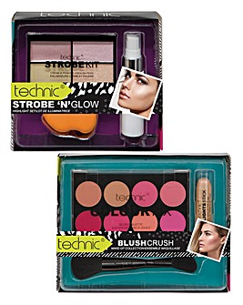 Technic Strobing and Blusher Set