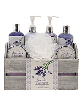 Lavender Skin Care Gift Set