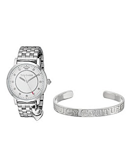 Juicy Couture Watch & Bracelet Set