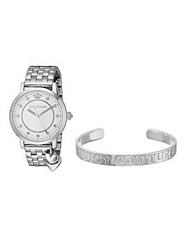 Juicy Couture Watch & Bracelet Set