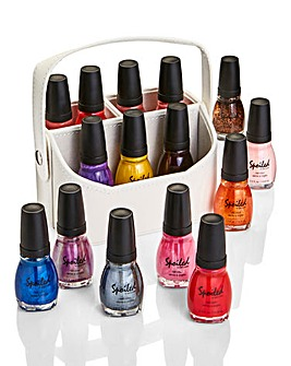 15-Piece Nail Polish Set with Caddy