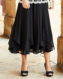 Nightingales Chiffon Skirt