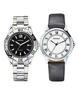 Sekonda Gents Set Of Two Watches