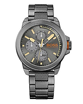 Boss Orange Gents Gunmetal Watch