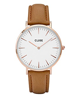CLUSE Ladies La Boheme Leather Watch