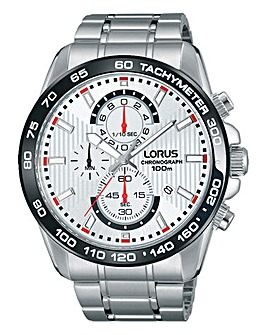 Lorus Gents Chronograph Bracelet Watch