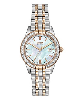 Citizen Ladies Crystal Set Watch