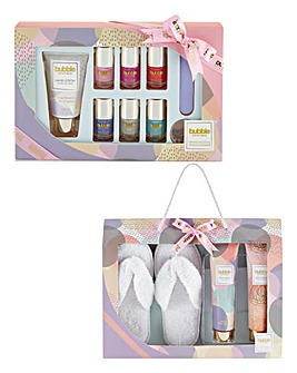Manicare Set & Slipper Gift Set