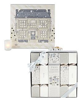Cracker Set & Tea Light Advent Calendar