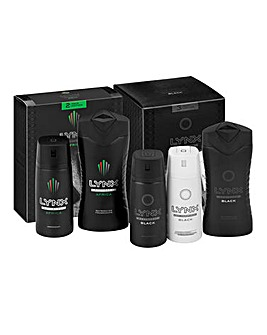 Lynx Africa Duo & Lynx Trio Black Set