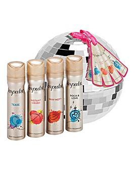 Impulse Glitter Ball Fragrance Gift Set