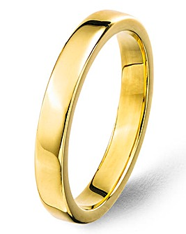Argentium Silver Ladies Wedding Band