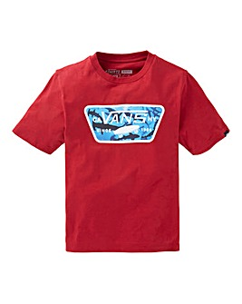 Vans Boys Full Patch Fill T-Shirt