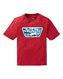 Vans Boys Full Patch Fill T-Shirt