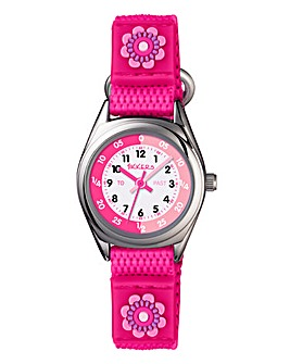 Tickers Time Teacher Watch - Pink