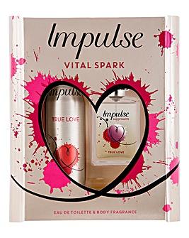 Impulse EDT Gift Set