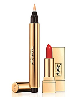 YSL Touch Eclat and Mini Lipstick Set