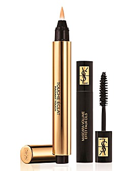 YSL Touch Eclat and Mini Mascara Set