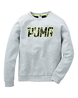 Puma Boys Sportstyle Crew Neck Sweat