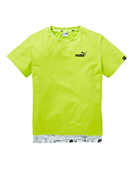 Puma Boys Sports Style All Over T-Shirt