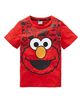 Puma Unisex Sesame Street Elmo T-Shirt