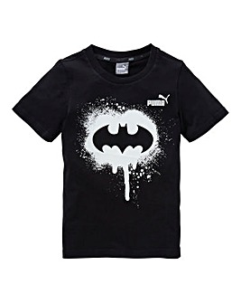 Puma Unisex Batman Glow In The Dark T-Sh