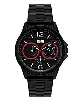 Storm Gents Black Bracelet Watch