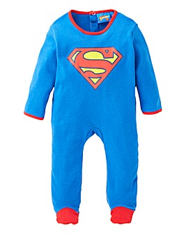 Superman Baby Sleepsuit