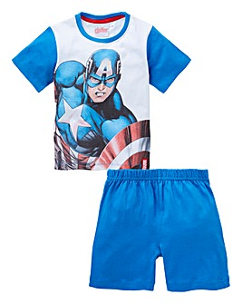 Avengers Boys Short Pyjamas