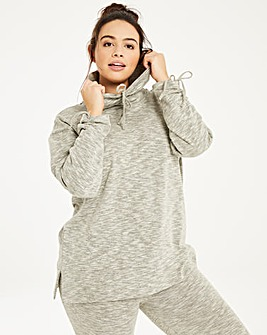 Leisure Ruched Detail Sweat