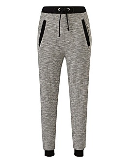 Contrast Panel Knitted Jogger