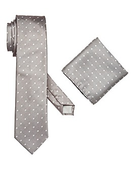 Williams & Brown London Spot Tie Set