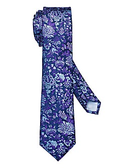 Williams & Brown London Floral Tie R