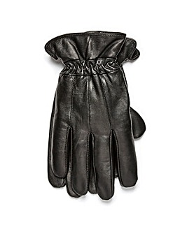 Black Label Leather Gloves