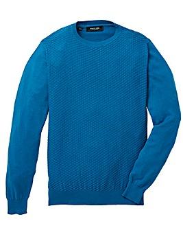 Black Label Stitch Detail Fine Knit R