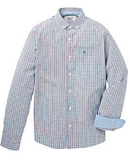 Original Penguin Two Colour Gingham Shrt