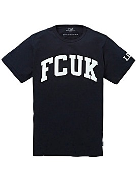 French Connection Navy FCUK T-Shirt