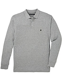 French Connection Long Sleeve Pique Polo