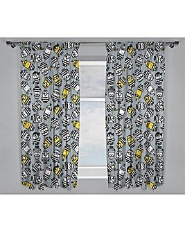 Despicable Me Minions Jailbird Curtains