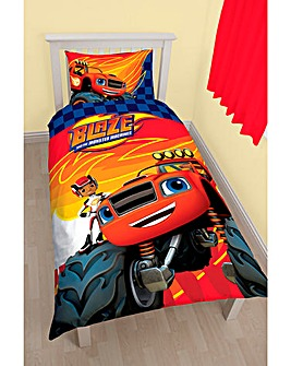 Blaze Zoom Personalised Panel Duvet