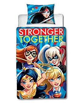 DC Superhero Girls Super Panel Duvet