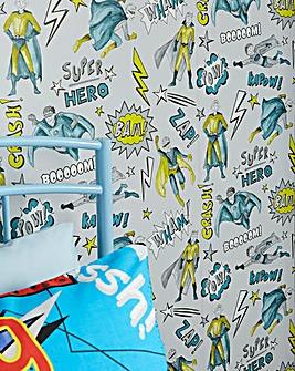 Superhero Lime Wallpaper