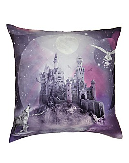 Magical Kingdom Violet Cushion