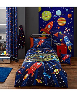 Outer Space Curtains
