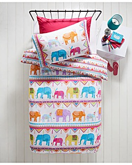Carnival Elephants Duvet Set