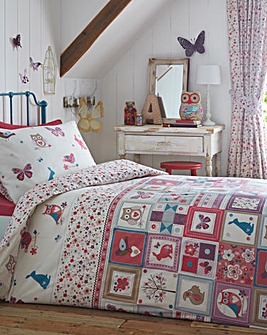 Nature Patchwork Duvet Set