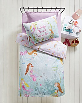 Mermaid World Duvet Set
